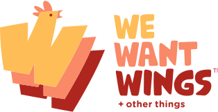 We Want Wings Restaurant Logo